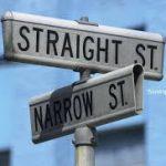 Straight and narrow
